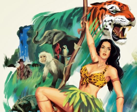 """""""Roar"""": Assista ao novo clipe da Katy Perry"""